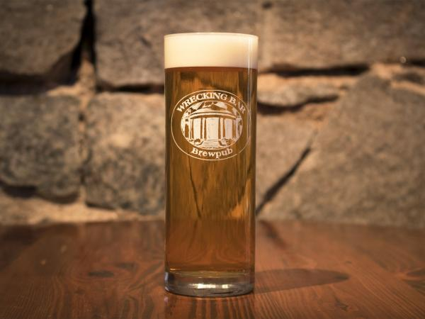 Breaking Bob Kölsch - This pale golden ale/lager hybrid, associated with the city of Köln, Germany, uses the lightest German Koln & Heidelberg malts available. With enough hops for balance, the result is a very light, crisp beer. $3.75/13oz